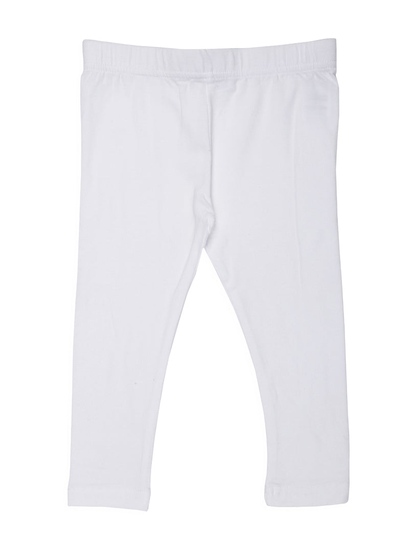 Kids - Girls Ankle Length Leggings white