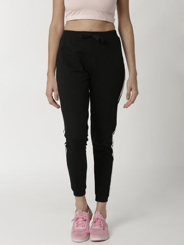De Moza - Ladies Black Jogger - De Moza
