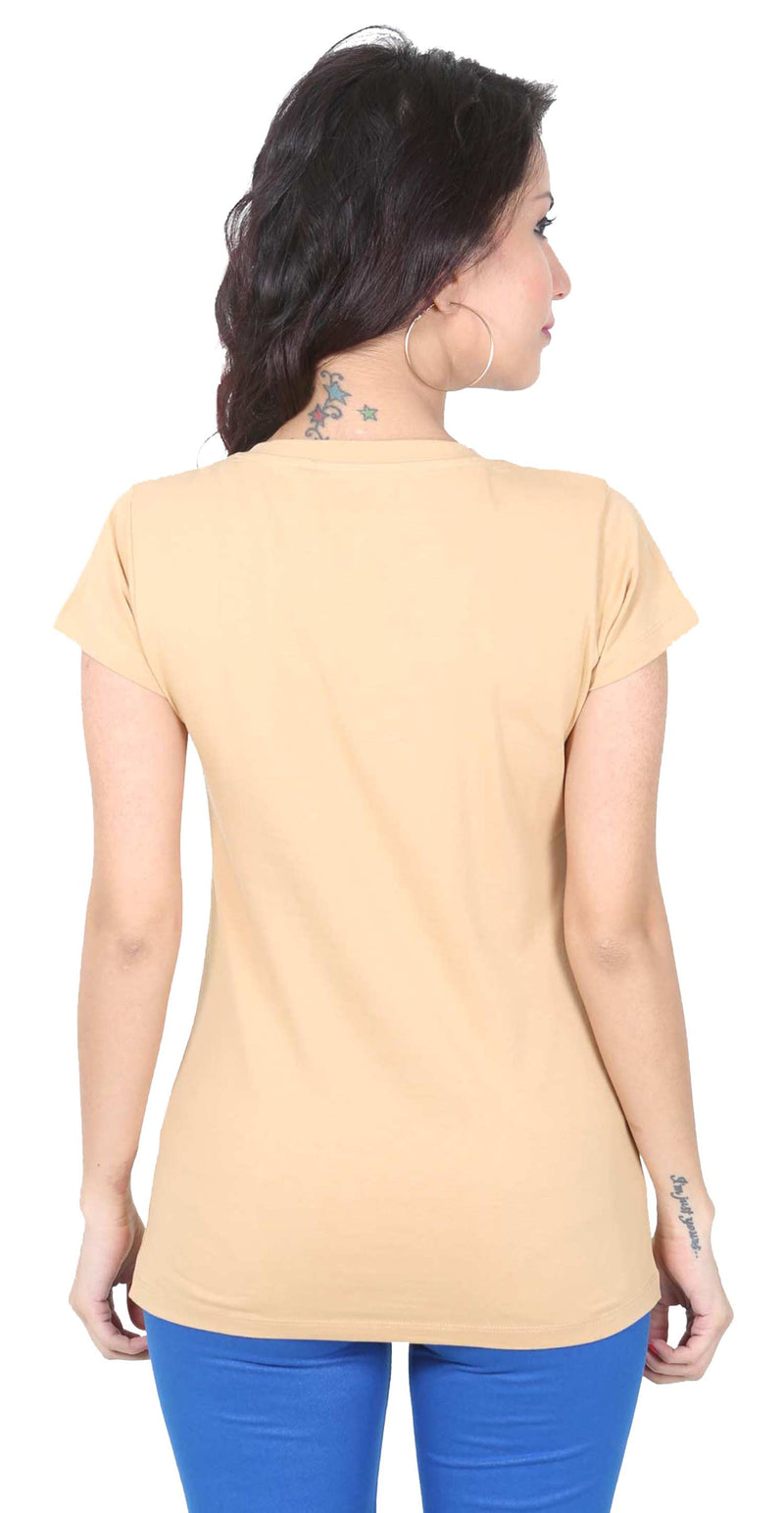 De Moza- Ladies Half Sleeve Skin Top - De Moza