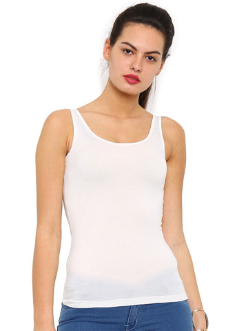 De Moza- Ladies Offwhite Top - De Moza