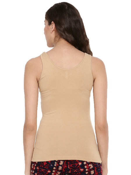 De Moza Ladies Knit Top Skin - De Moza