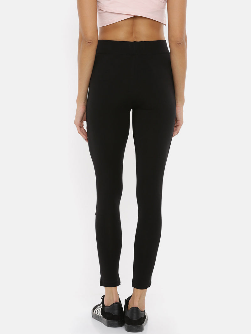 De Moza Ladies Mesh Black Active Wear - De Moza