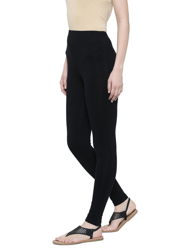 De Moza- Ladies Yoga Leggings Black - De Moza