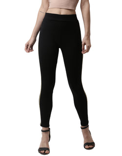 De Moza- Ankle Length Leggings Gold - De Moza