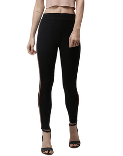 De Moza- Ankle Length Leggings Copper Gold - De Moza