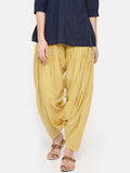 De Moza Ladies Skin Solid Patiala - De Moza