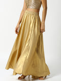 De Moza Ladies Gold Skirt - De Moza