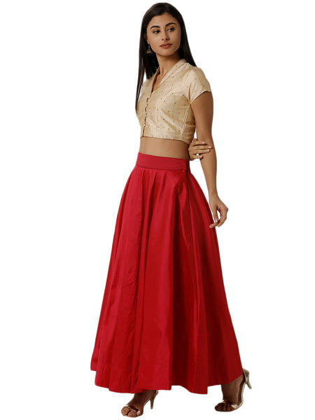 De Moza Ladies Fuchsia Skirt - De Moza