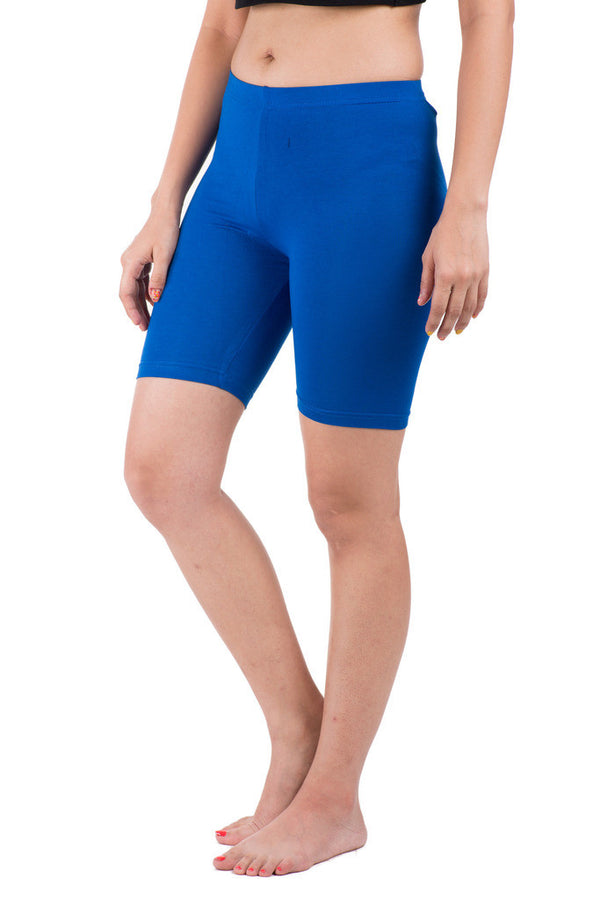 De Moza- Ladies Deep Blue Bottom Thights - De Moza