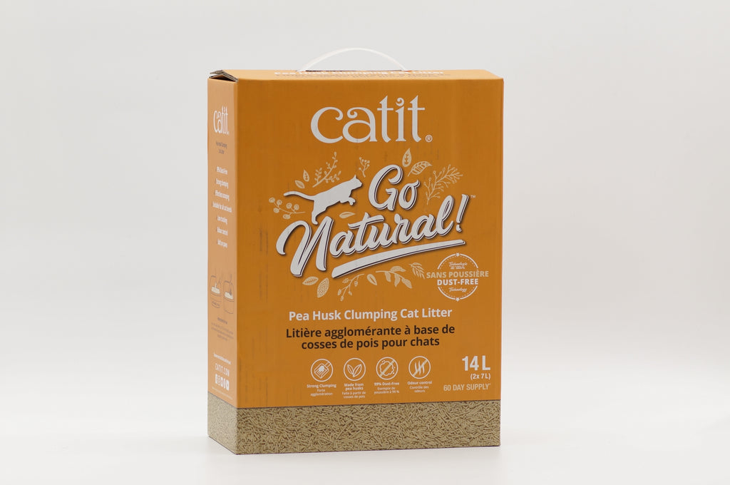 Review: Catit Go Natural! Pea Husk Clumping Cat Litter