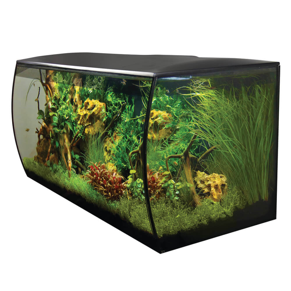 Fluval Flex Aquarium Kit 123L (32.5gal) - 14995 BLACK