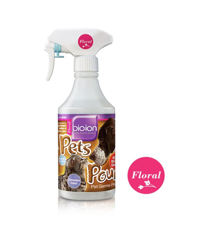 Bioion Pet Pounce Pet Sanitizer 500ml
