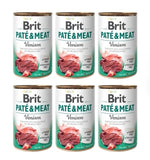 Brit Dog Can - Pate & Meat 400g