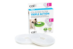 Catit Fountain Filter Triple Action