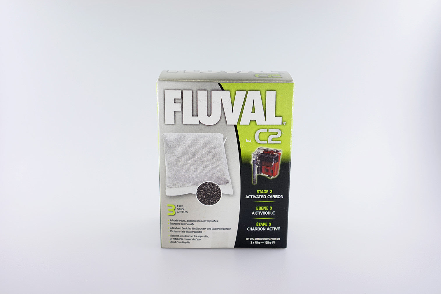 FLUVAL - C-Series Activated Carbon (twin box set)