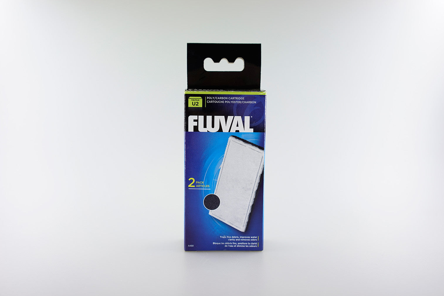 FLUVAL - U-Series Filter Media - Poly/Carbon Catridge