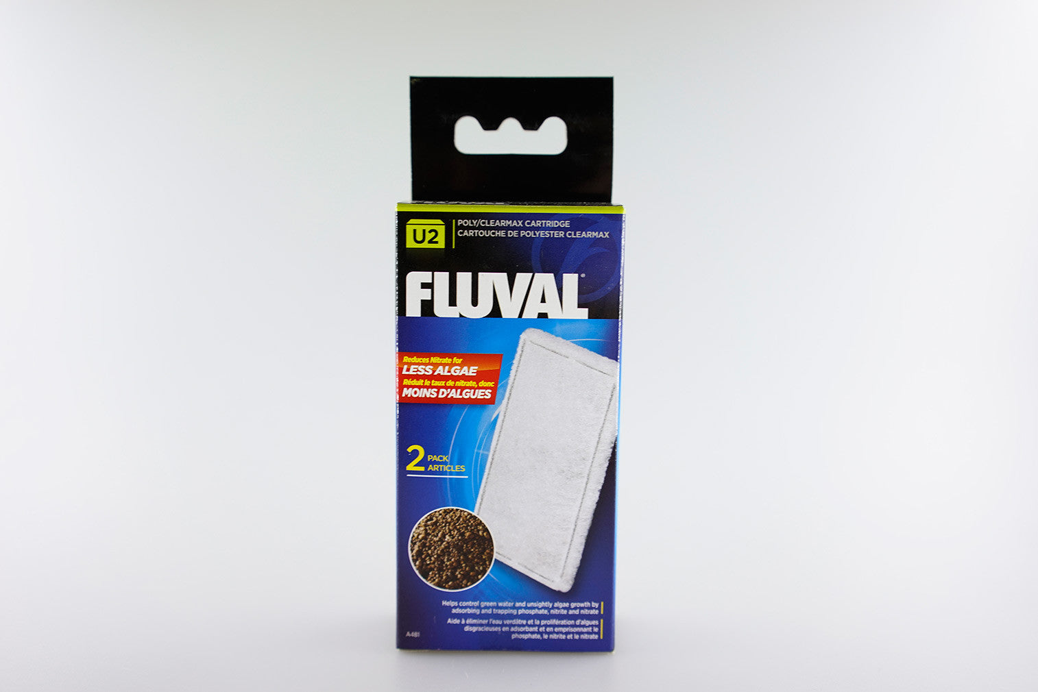 FLUVAL - U-Series Filter Media - Poly/Clearmax Catridge