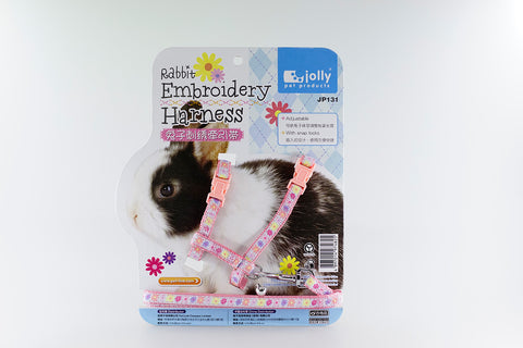 JOLLY - Rabbit Harness - Embroidery