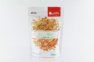 Jolly Xtra Bite Dried Mealwormds & Shrimps 60g