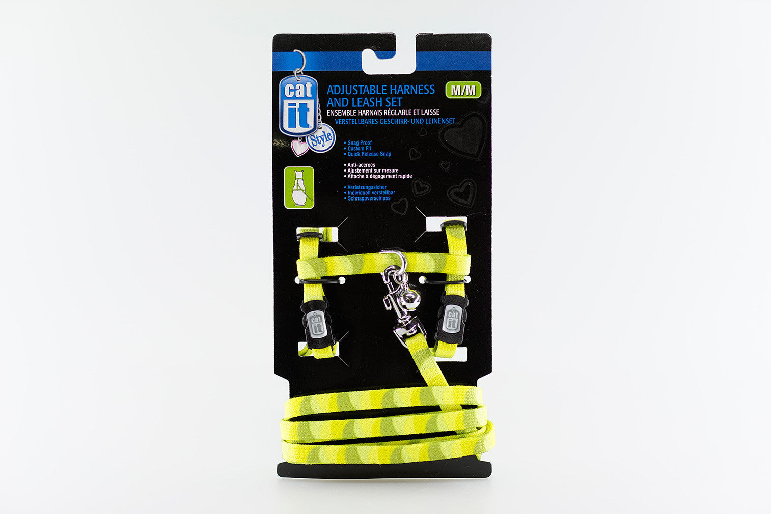 Catit Style Adjustable Harness and Leash Set