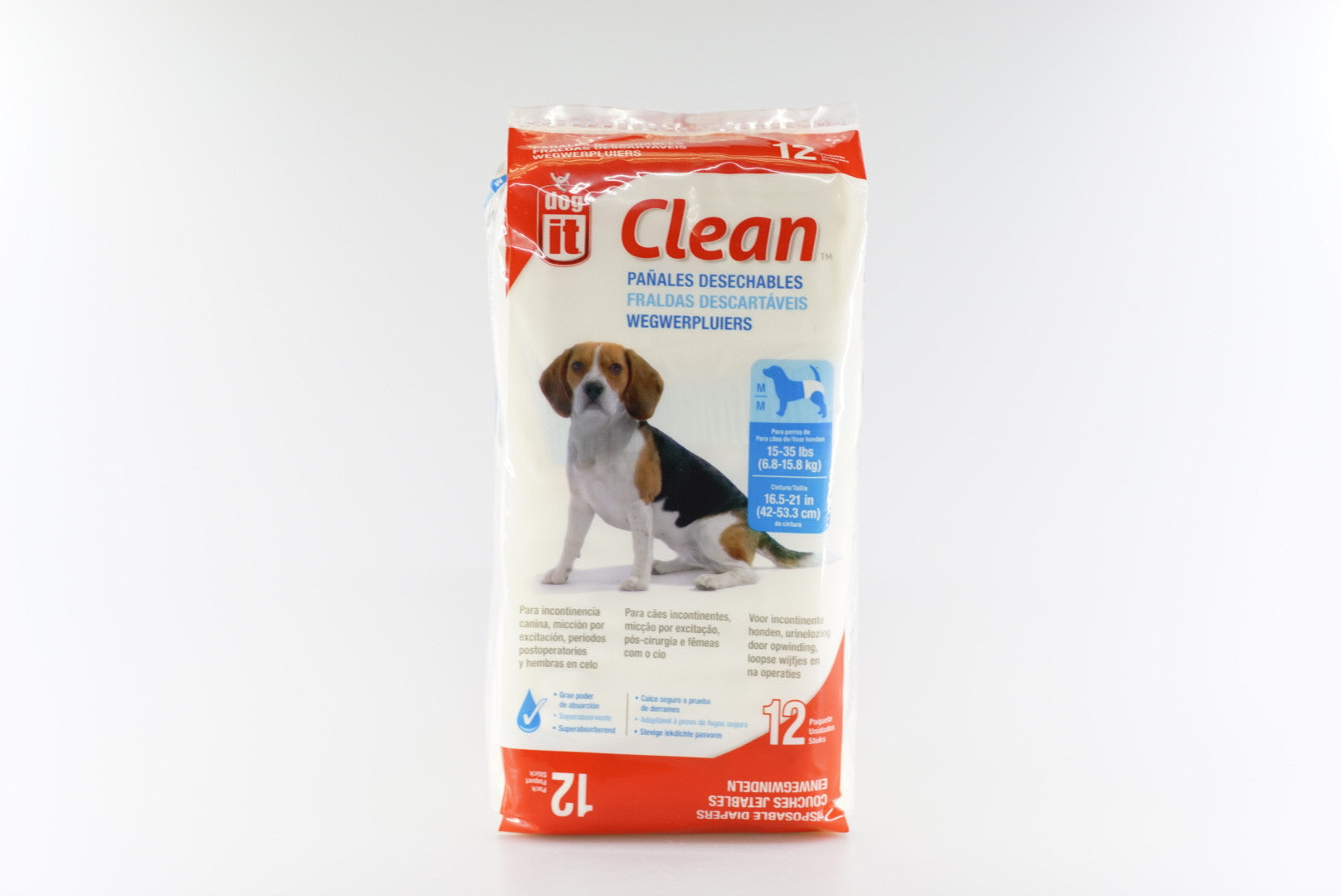 Dogit Clean Disposable Diapers