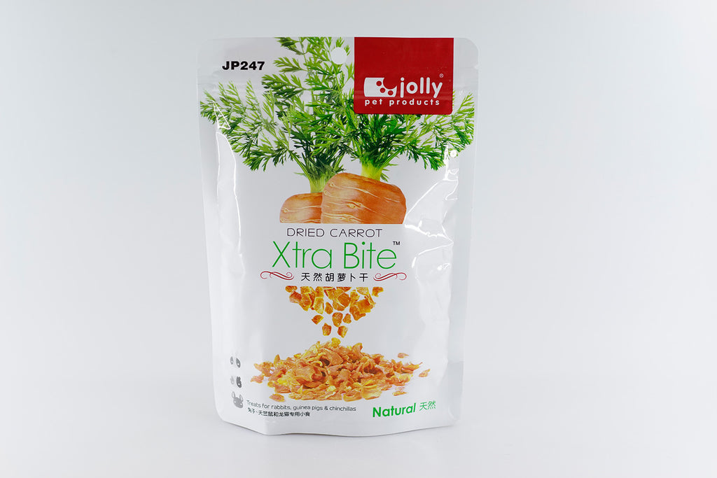 Jolly Xtra Bite Dried Carrot 120g