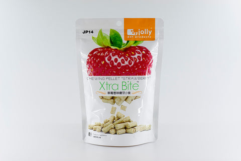 Jolly Xtra Bite Chewing Pellets Strawberry 200g
