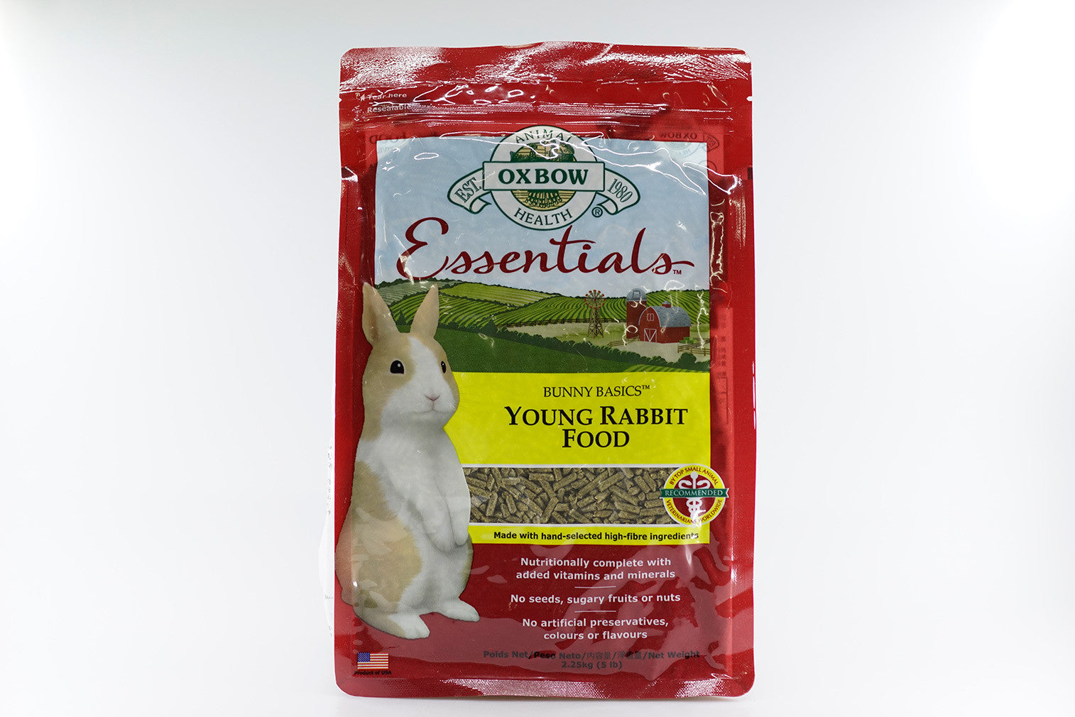Oxbow Essentials Young Rabbit Food 2.25kg