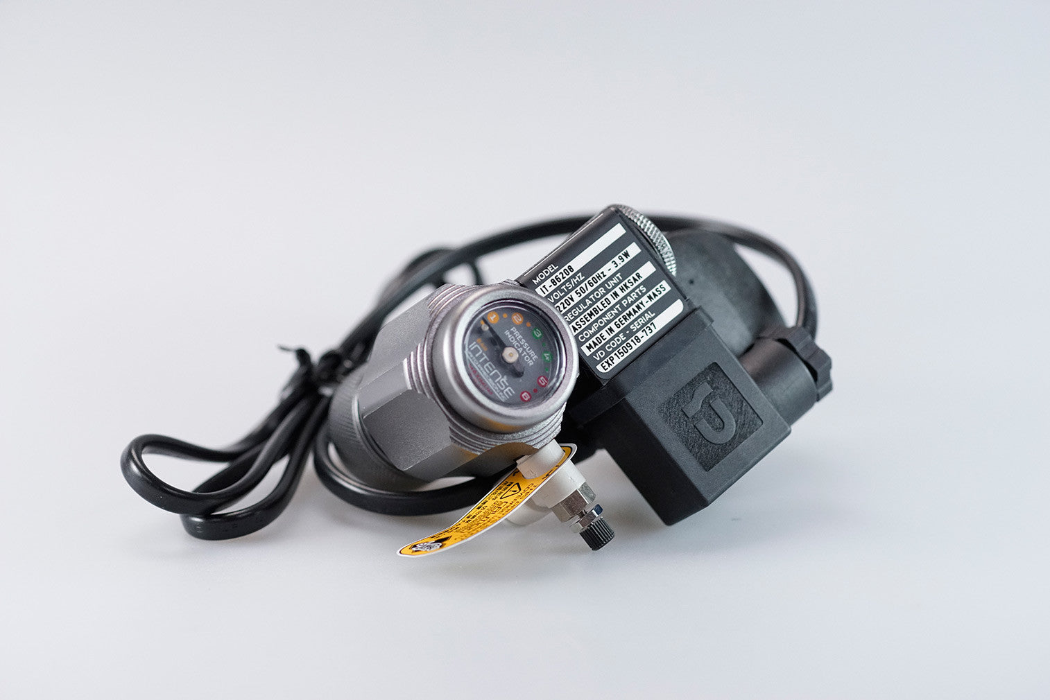 Intense CO2 Regulator with Solenoid