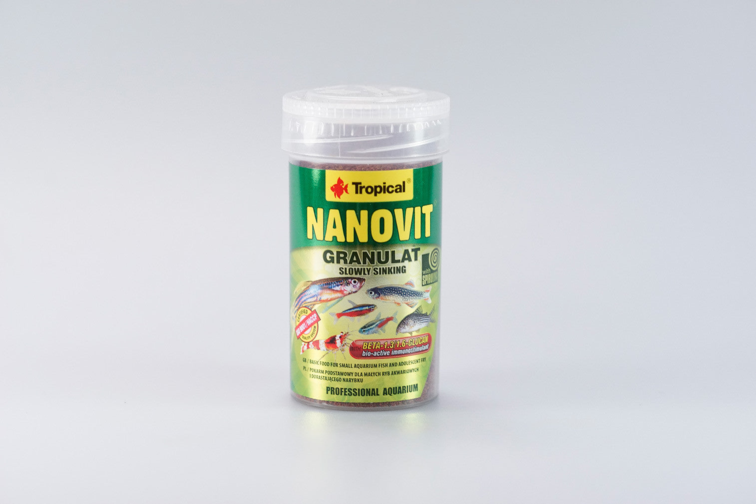 Tropical Nanovit Granulat - 70g ~ 100ml