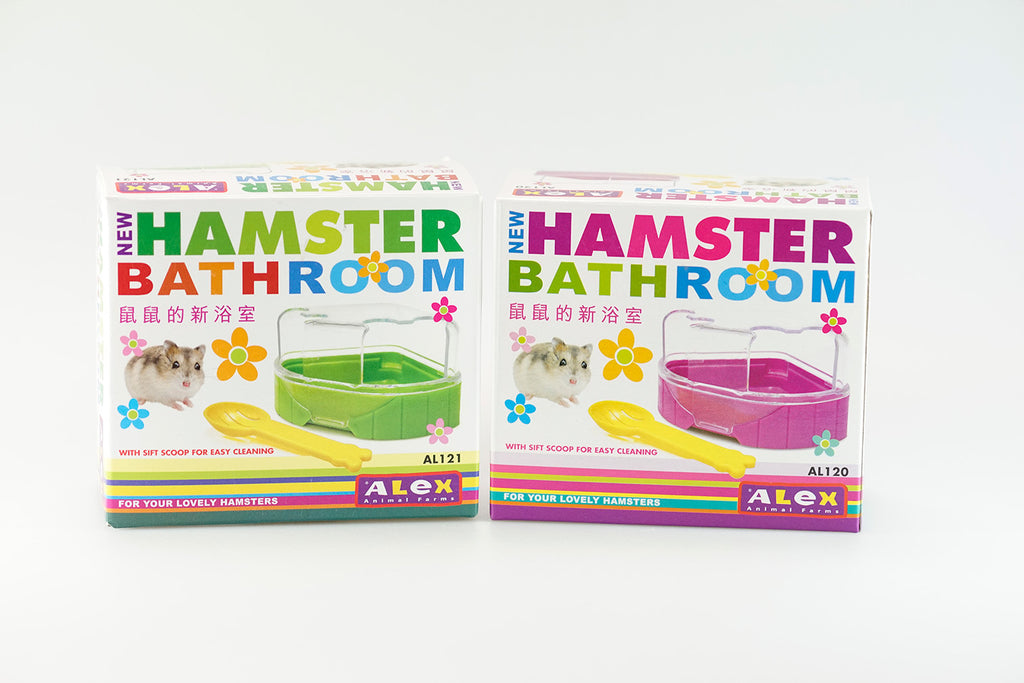 Alex Hamster Bathroom