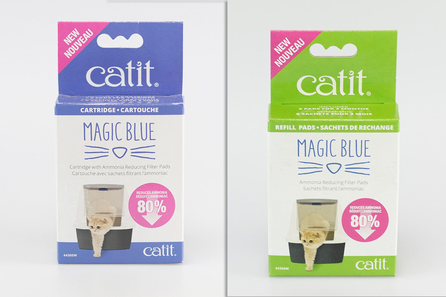 Catit Magic Blue + refill pack