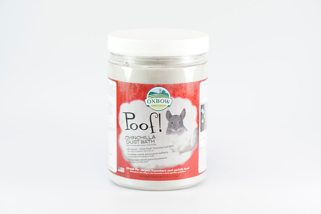 Oxbow Poof! Chinchilla Dust Bath 1.13kg