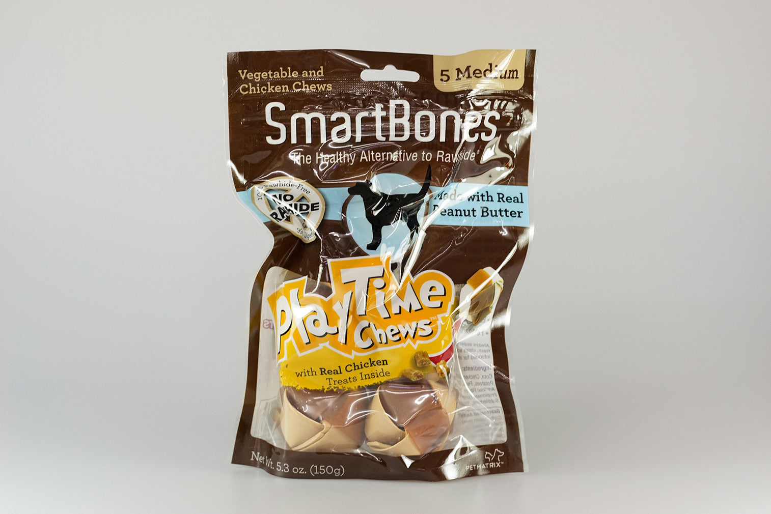 SmartBones PEANUT BUTTER PLAYTIME INNOVATIVE CHEWS