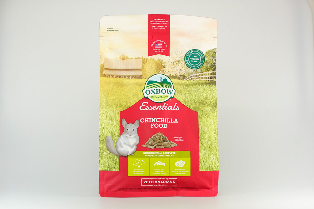 Oxbow Essentials Chinchilla Food 1.36kg