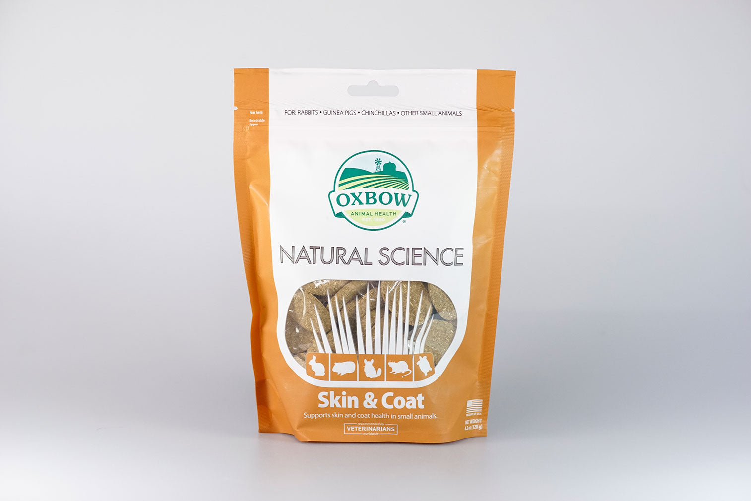 Oxbow Natural Science Skin & Coat 120g