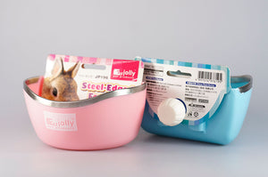 Jolly Steel-Edged Food Bowl - JP196 & JP197