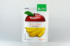 Jolly Xtra Bite Dried Apple & Banana 30g - JP130