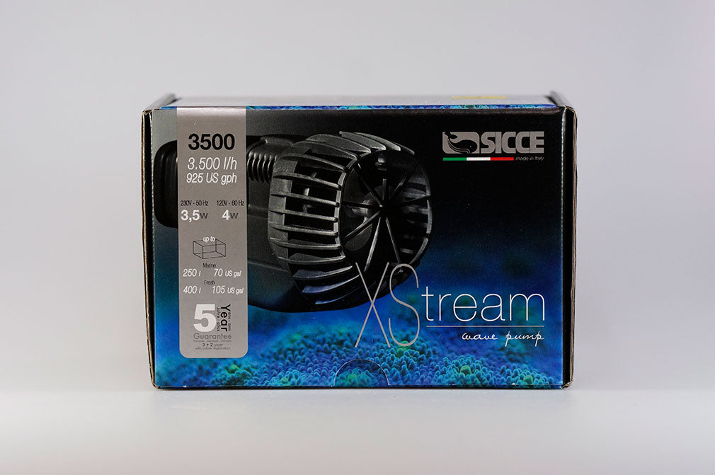 Sicce XStream 3500 - 4 watt Compact Wave Pump