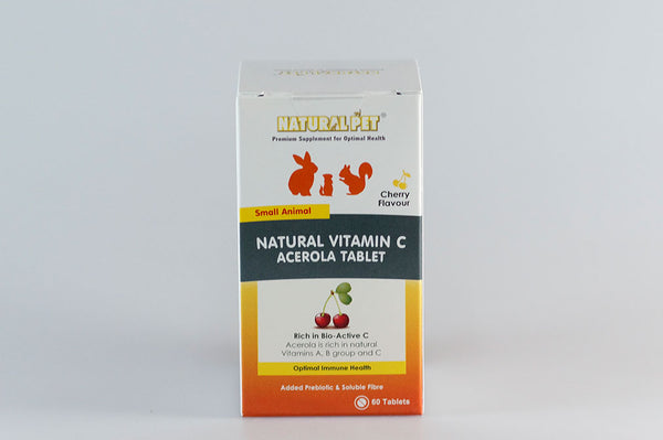 Natural Pet Natural Vitamin C Acerola Tablet 60 tabs