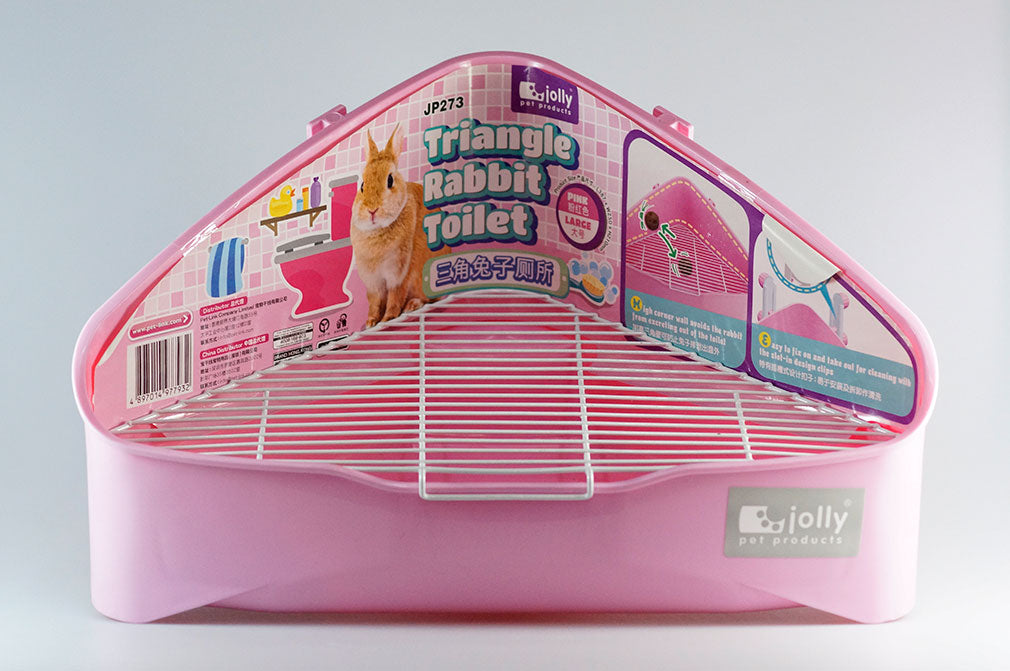 Jolly Triangle Rabbit Toilet