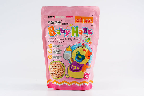 Alice Baby Hams Premium Formula for Baby Hamsters 350g #AE97