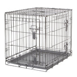 Dogit Two Door Wire Home Crates with divider - Small - 61x45x51cm