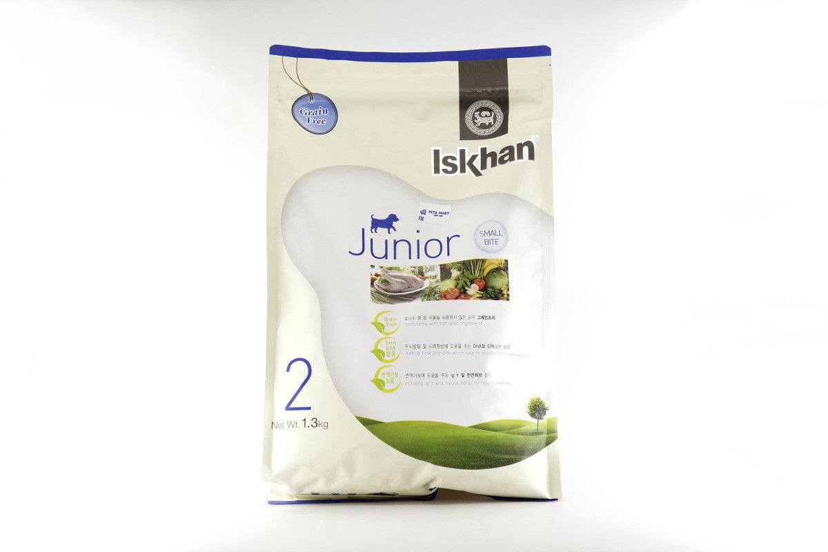 ISKHAN Junior - Dog Food for Puppies - 1.3kg