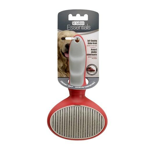 Le Salon Self-Cleaning Pin Brush for Dogs #91261