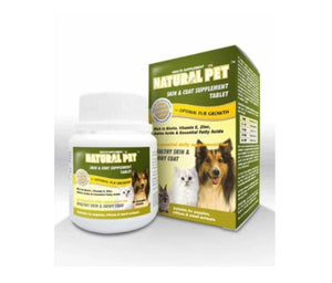 Natural Pet Skin & Coat Supplement Chewable Tablet For Pets