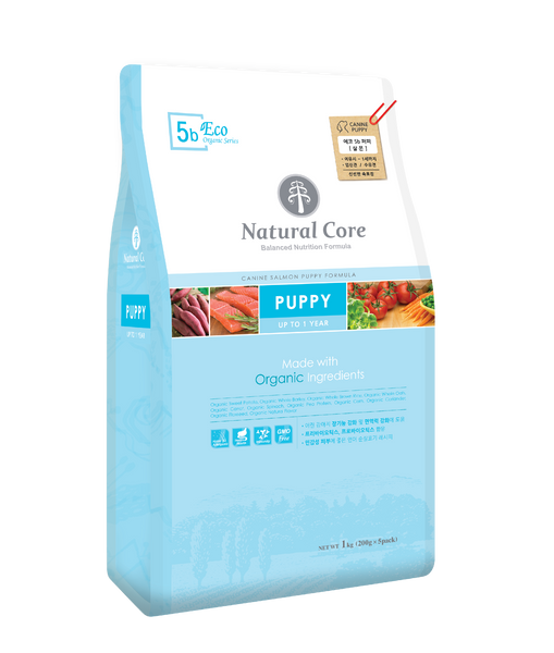 Natural Core ECO 5b. Organic Puppy 1kg