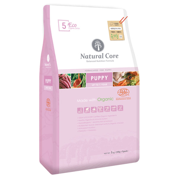 Natural Core ECO 5a. Organic Puppy 7kg