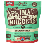Primal Nuggets Freeze-Dried Dog Food 14oz #Buy 2 Free 1