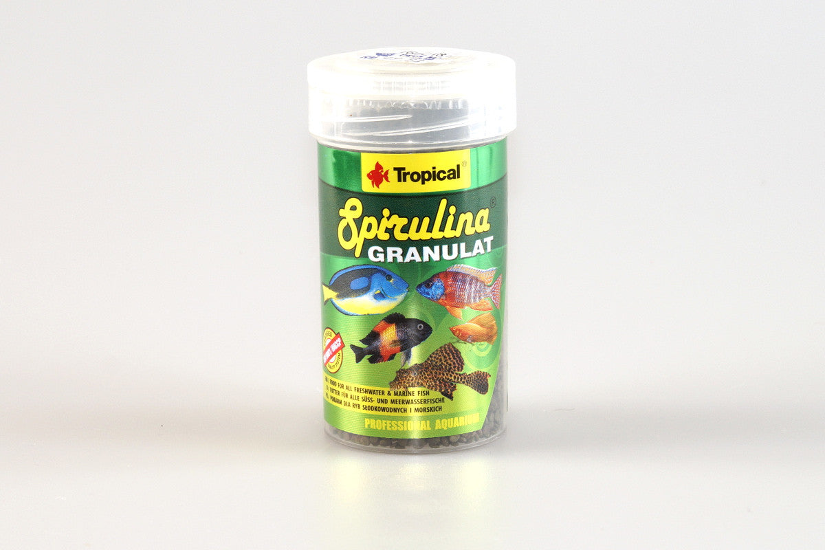 Tropical Spirulina Granulat - 60g ~ 100ml